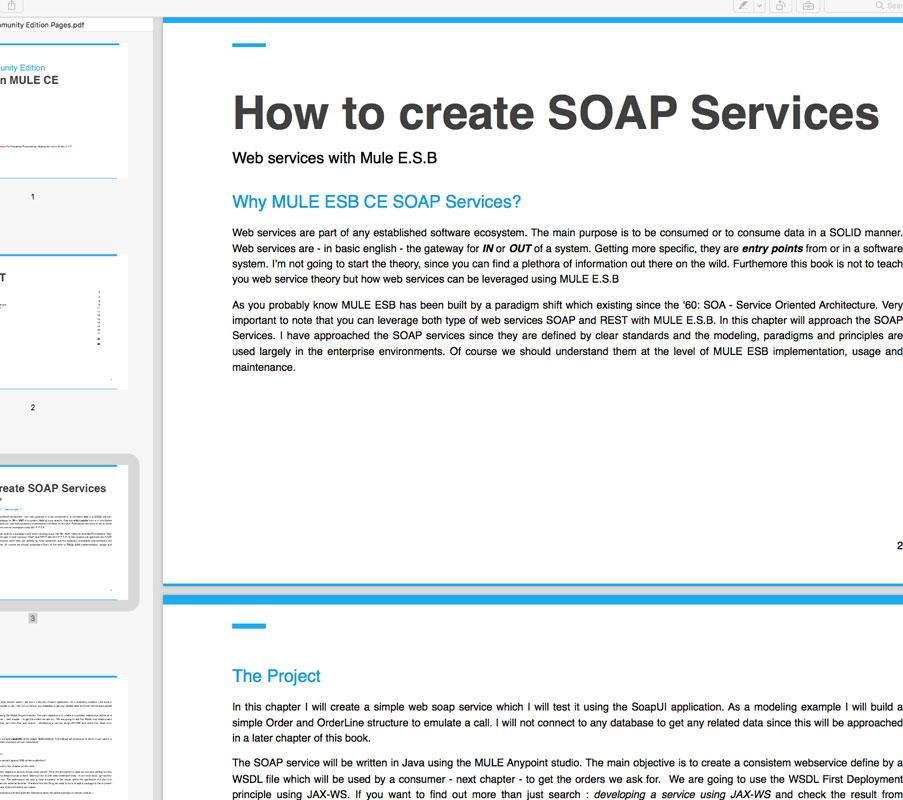 Create SOAP Services with MULE CE (pdf)