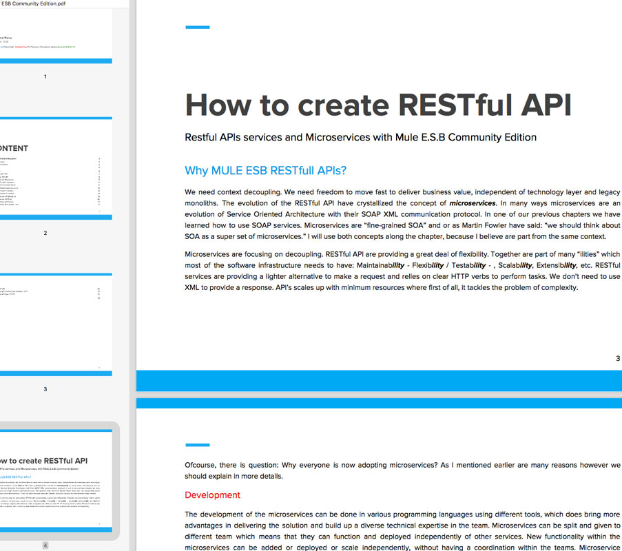 How to create RESTful API with MULE CE (mda)